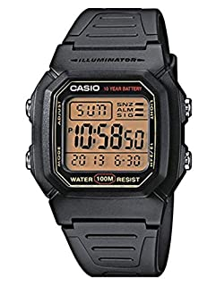 Casio Collection Women's Watch W-800HG-9AVES (B000W4RDFY) | Amazon price tracker / tracking, Amazon price history charts, Amazon price watches, Amazon price drop alerts
