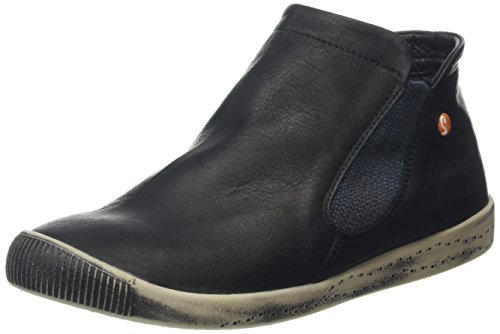 Softinos Inge smooth, Bottes Classiques femme Noir