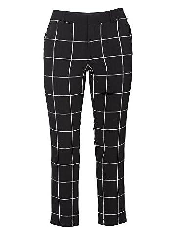 sheego Trend Damen Freizeithose große Größen schwarz 54/7XL