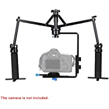 Andoer Mini Caméra Vidéo Stabilisateur Mécanique Portatif pour Caméscope DV Vidéo Caméra DSLR