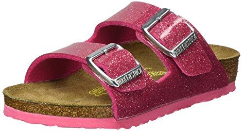 dchen Arizona Pantoletten, Pink (Magic Galaxy Bright Rose), 33 EU (Birkenstock Für Mädchen)