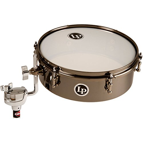 lp-latin-percussion-timbales-drum-set-black-nickel-12-x-4-finish-klemme-fur-alle-gangigen-rod-durchm