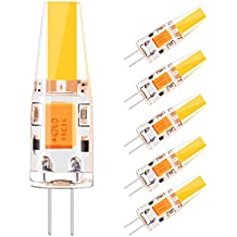 3x G4 Led Leuchtmittel 3Watt 340 Lumen warmweiß 220-240Volt