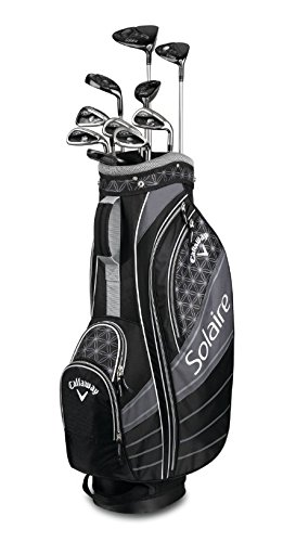 Callaway Golf 2018Solaire Paket Set, Damen, 406484011207BK, Schwarz, Regular