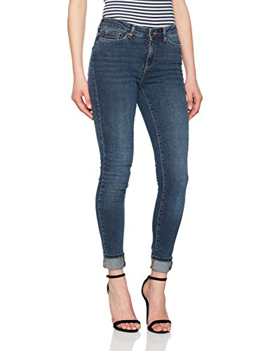 Vero Moda, Jeans Slim Donna Blu (Medium Blue Denim Medium Blue Denim)
