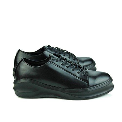 DIMENSIONE Uomo Allaperto pigri da Moda casual Scarpe ginnastica 44 Scarpe 39 formatori Scarpe Scarpe Black casual Ballerine OOSqAwgf