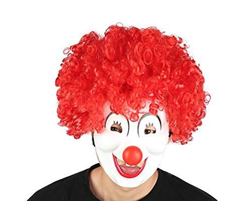 Unisex Hippie-Stil Funky Afro Clown Perücke für Halloween Kostüm Perücke Cosplay Party