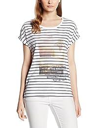 s.Oliver Geringelt, T-Shirt Femme