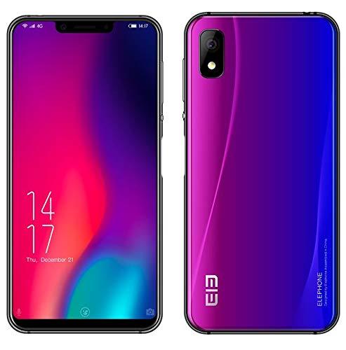 ELEPHONE A4 Pro Smartphone Libres - 5,88' Pantalla de Notch (relación 19: 9 y Todo Vidrio) Móviles Teléfono Android...