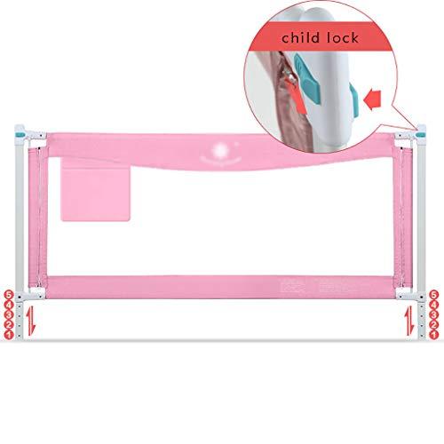 Bett Schienen Baby Bruchsicher Zaun Zweipolige Kindersicherung Vertikale Aufzug Kind Kind Nacht 180-200 Cm Schallwand (größe : 180cm) -