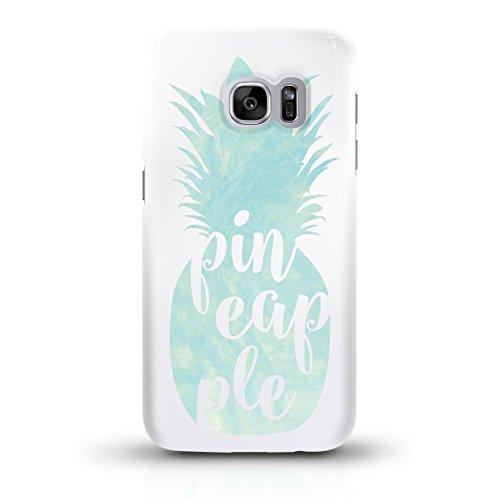 """JUNIWORDS Handyhüllen Slim Case für das iPhone 6/6s - """"Ananas Design 3 Strand"""" - Handyhülle, Handycase, Handyschale, Schutzhülle für Ihr Smartphone Ananas Design 3 Türkis"""