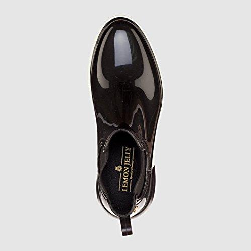 Lemon Jelly Damen Wing Chelsea Boots Schwarz (Black)