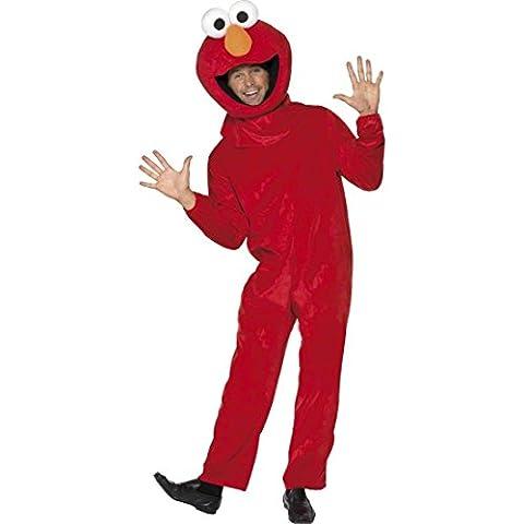 Kostüm Elmo Sesamstraße M/L - Elmokostüm Sesamstraßekostüm