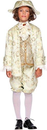 Carnevale Venizano CAV50720-S - Kinderkostüm CASANOVA - Alter: 7-10 Jahre - Größe: (Kostüm Carnevale Casanova)