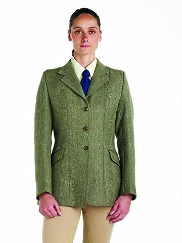 Damen Caldene Belvoir Derby Tweed Jacke, damen, QT1LRB,