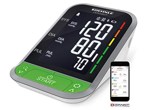 druckmessgerät Systo Monitor Connect 400 mit Bluetooth & App-Anbindung, Blutdruckmesser mit Bewegungssensor, Blutdruck Messgerät ()