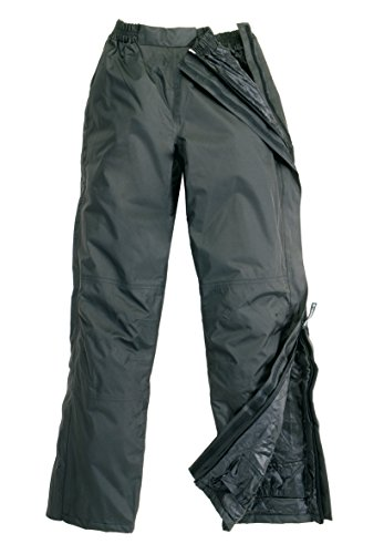 Pantalone impermeabile imbottito da moto scooter apribile Tucano Urbano 536
