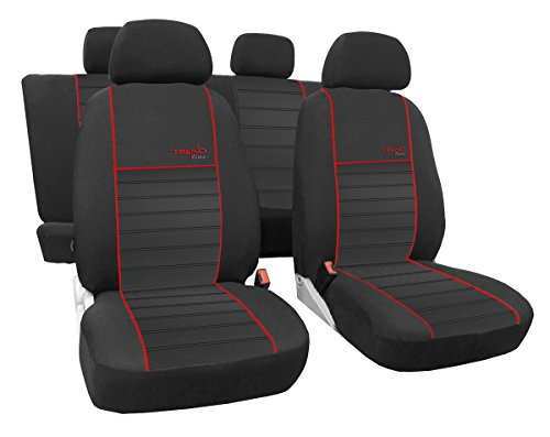 EJP Massgefertigtes Autositzbezugset Golf VII .Design Trend Line (erhältlich in 6 Farben).