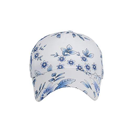 (Syeytx Klassische Mode Blumenmuster Baumwolle Baseballmütze Sonnenhut einstellbare Plain Caps)