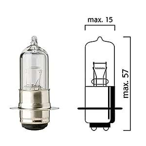 Ampoule Flösser 12V 35/35W P26d-25-3