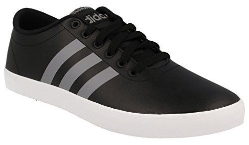 adidas Herren Easy Vulc Vs Turnschuhe Schwarz (Negbas / Grau / Ftwbla)
