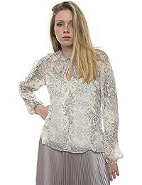 e6ee35954a Amazon.it: camicia seta - 38 / Donna: Abbigliamento