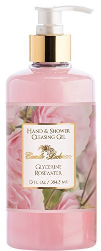 Camille Beckman Glycerin (Camille Beckman Hand & Shower Gel 13 Oz. (Glycerine Rosewater) by Camille Beckman)