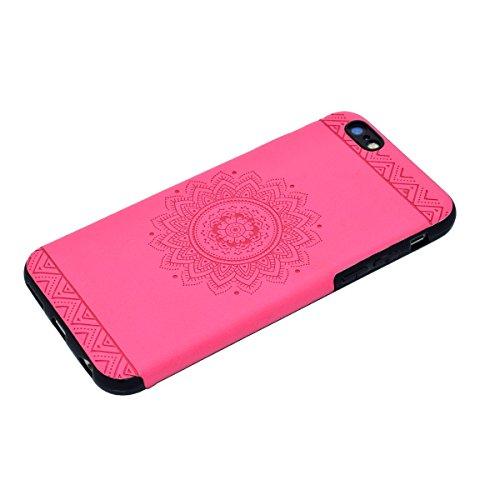 Custodia inShang cover per iPhone 7 4.7 Cellulare,super slim e leggero TPU materiale Cover posterior stili per iPhone7 4.7 inch + inShang Logo pennino di alta classe Rose printing