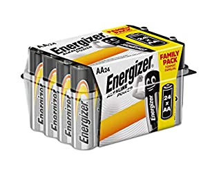 Energizer E91 - Pack de 24 pilas alcalinas AA, color negro (B0132XVLDG) | Amazon price tracker / tracking, Amazon price history charts, Amazon price watches, Amazon price drop alerts
