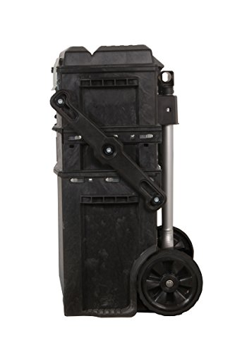 Stanley FatMax Mobile Arbeitsstation, einfahrbarer Teleskopgriff, Schwerlasträder, Sicherheitsverriegelung, 1-94-210 - 3
