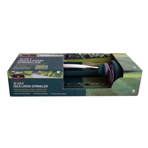 Benross GardenKraft 14150 Viereckregner mit 18 Löchern