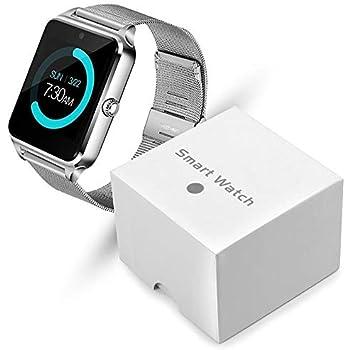 YWSZY Reloj Inteligente Mujer Pantalla Táctil Led Bluetooth Deporte Música Multifunción Correa De Acero Reloj Inteligente Reloj Mujer Reloj Relogio ...