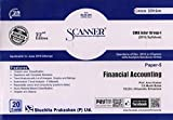 Solved Scanner CMA Inter Group-I (2016 Syllabus) Paper-5 Financial Accounting (Assessment Year 2019-20)