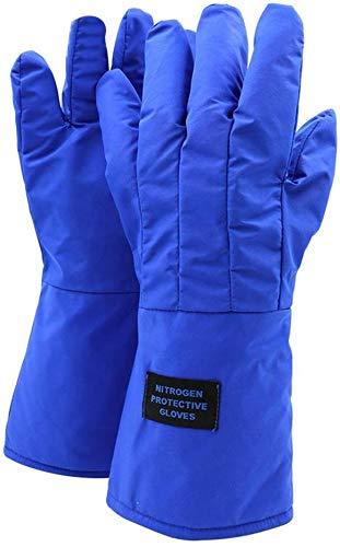 QXXNB Anti-Flüssigstickstoffhandschuhe Frostschutz- und kältebeständige Handschuhe, LNG-Tankstelle Trockeneis-Test Kaltlagerung Spezielle Kalthandschuhe