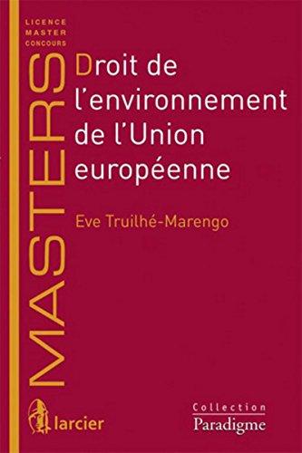 Droit de l'environnement de l'Union européenne