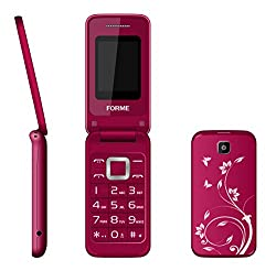 Forme S700 Designer Flip Phone Red
