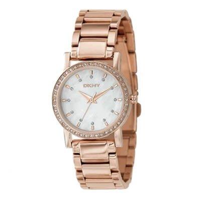 DKNY ny8121 29mm Rose Gold Steel Bracelet & Case Mineral Women's Watch