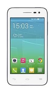 Alcatel POP S3 5050X Smartphone 4G débloqué 4 pouces Android 4.3 Jelly Bean 4Go Blanc + slate + 5 lifestyle