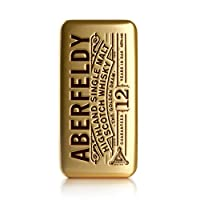 Aberfeldy 12 Year Old Limited Edition Aberfeldy Whisky Gold Bar Gift Tin from Jack Daniels
