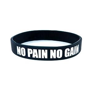 sportwristbands Unisex Armband Fitness Bodybuilding Silikon Gummi Motivation