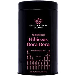 The Tea Makers of London sagenhafter Bora Bora Früchtetee Erdbeer Mango Tee von prämiertem Teekontor Geschenkidee, 1er Pack (1 x 125 g)