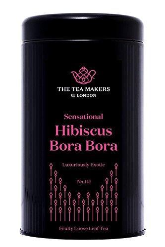 The Tea Makers of London  sagenhafter Bora Bora Früchtetee Erdbeer Mango Tee von prämiertem Teekontor Geschenkidee, 1er Pack (1 x 125 g) (Grüner Tee-dragon)