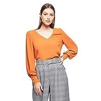 Vero Moda t-shirt for women in Rust, Small