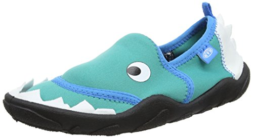 Animal Boys' Bram Espadrilles, Green (Pool Green), 9 UK 26 EU