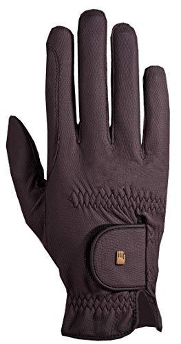 Roeckl Roeck Grip Handschuh, Unisex, Reithandschuh, Pflaume, Größe 7,5