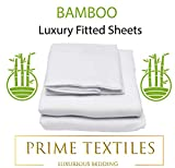 Optima Bedding Ltd BAMBOO Hypo Allergenic Fitted Sheet - MORE BREATHABLE AND SOFTER