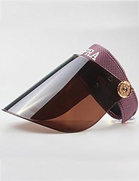 Maschio e femmina Estate all'aperto Anti-UV Protezione solare Coprire la faccia cappello da sole cappello estivo...