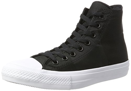 Converse - Chuck Taylor All Star Ii, Pantofole a Stivaletto Unisex – Adulto Mehrfarbig (Black/Storm Wind/White)