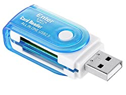 Enter USB Card Reader All in1 Ext (E-MC74) (Color may vary)