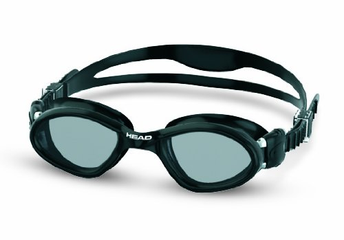 HEAD Erwachsene Schwimmbrille Superflex Black-Smoke, One Size